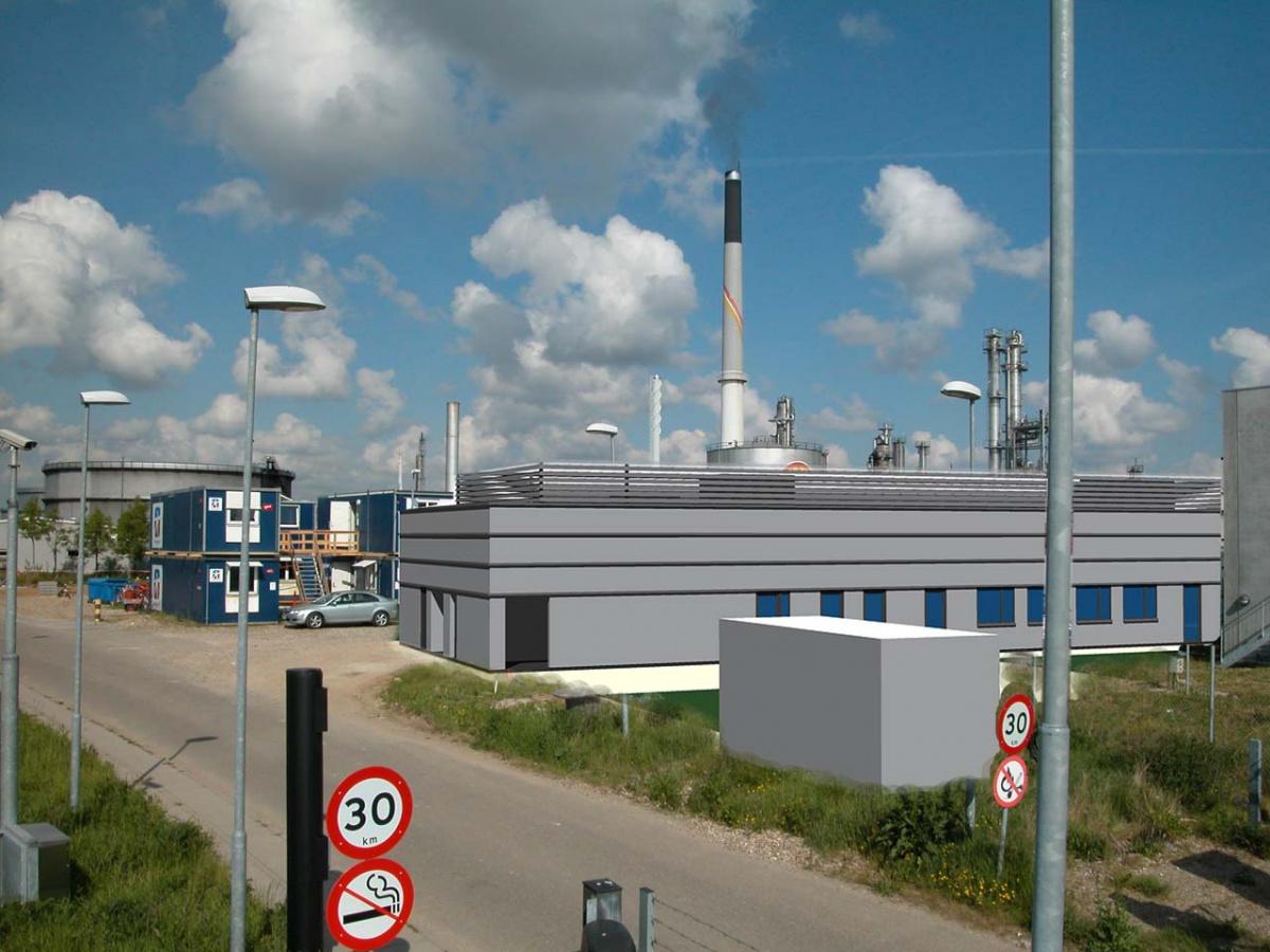 Shell Raffinaderiet | Laboratorie Bygning